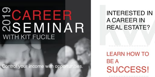 Real Estate Career Seminar - July 23rd