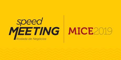 Speed Meeting MICE Rio de Janeiro ingressos