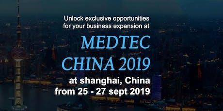 Medtec China 2019 tickets