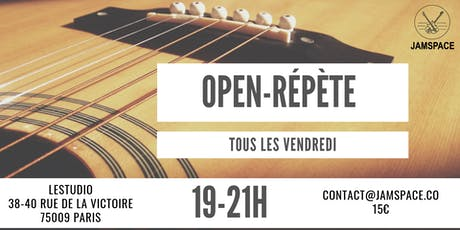 Open-répète billets