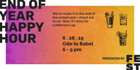 FEST's End of Year Happy Hour tickets