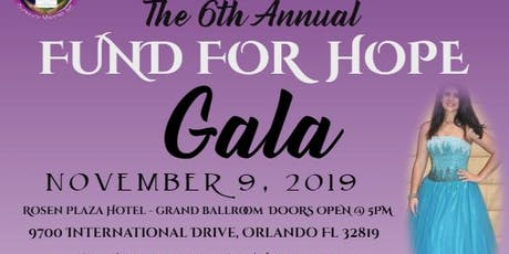 """Clarita's House Outreach Ministry """"FUND FOR HOPE"""" GALA tickets"""