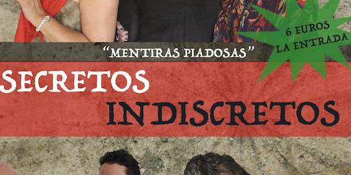 """ESPECTÁCULO """"SECRETOS INDISCRETOS"""""""