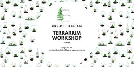 Terrarium Workshop With Jar & Fern tickets