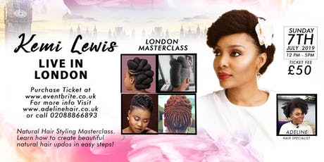 KEMI LEWIS LONDON MASTER CLASS tickets