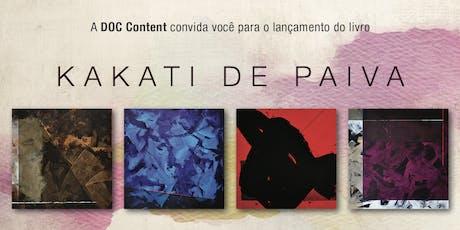 Lançamento do Livro de Kakati de Paiva ingressos