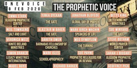 OneVoice - The Prophetic Voice tickets
