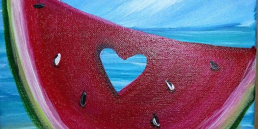 Watermelon Love-Paint Night