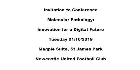 Molecular Pathology: Innovation for a Digital Future tickets
