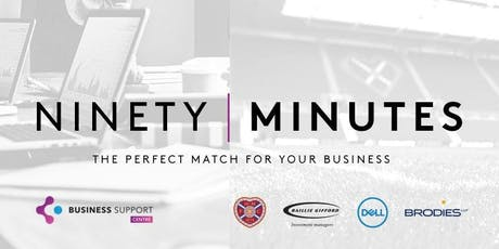 Heart of Midlothian's Ninety Minutes Business Support Series tickets