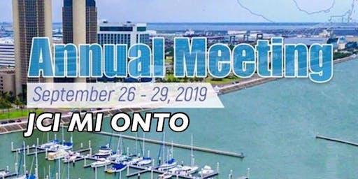 JCI Michigan ONTO Corpus Christi, TX for JCI USA Annual Meeting