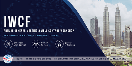 IWCF Annual General Meeting and Well Control Workshop tickets