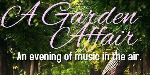 A Garden Affair with Violinist Christopher James Frank