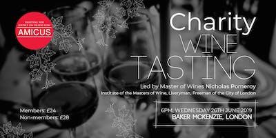 Amicus Charity Wine Tasting