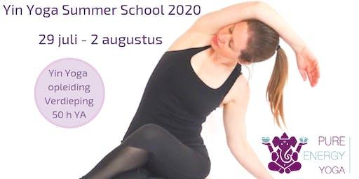 Yin Yoga opleiding Utrecht (50h YA) Meridianen & 5 elementen - Yin Yoga & Energie module