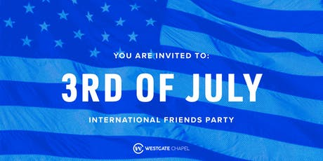 3rd of July Party! tickets