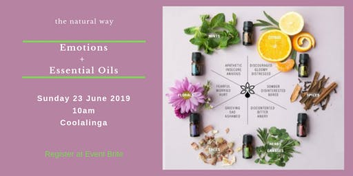 Emotions + Essential Oils - the natural way