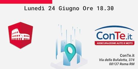 Angular Roma - MeetUp @ConTe.it biglietti