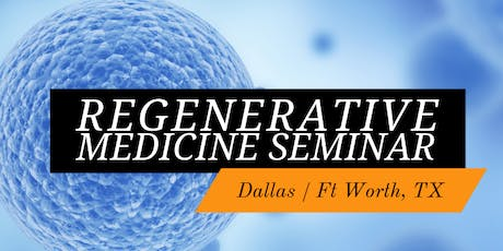 6/25/2019 FREE Seminar: Regenerative Stem Cell Therapy for Joint Pain Relief tickets