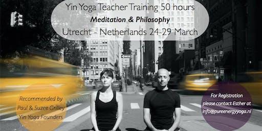 Yin Yoga Training Meditation & Philosophy module with Sebastian Pucelle (50h YA)