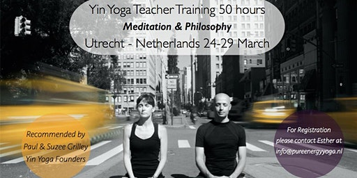 Yin Yoga Training Meditation & Philosophy module with Sebastian Pucelle (50h YA)