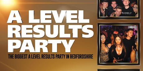 A Level Results Party tickets