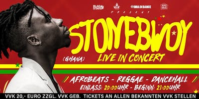 STONEBWOY (GHANA / WEST AFRIKA) LIVE IN BERLIN