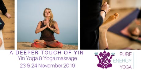 A deeper touch of Yin Yoga workshop tickets