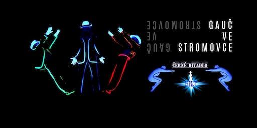 12. narozeniny Černého divadla HILT o půlnoci