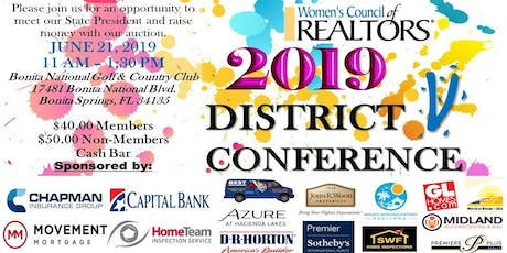 District V Conference tickets