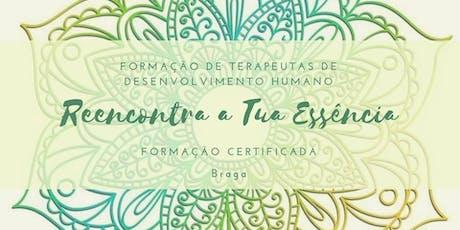 Formação de Terapeutas de desenvolvimento humano - Braga tickets