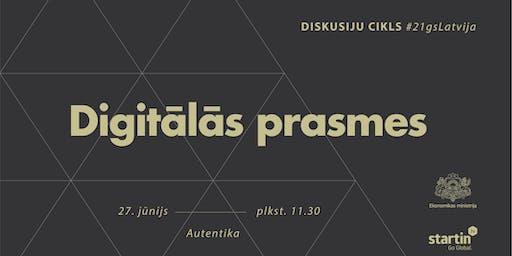 #21gsLatvija: Digitālās prasmes