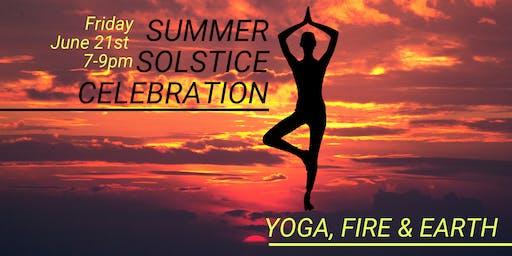 Summer Solstice Fireside Yoga