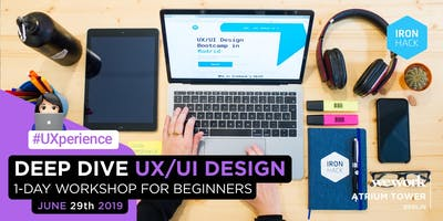 Deep Dive UX/UI | 1-Day Workshop for Beginners (Scholarship Opportunity!)