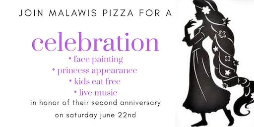 Malawis Pizza 2-Year Anniversary Party