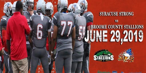 Home Game v Broome County Stallions