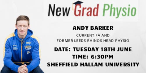 The New Grad Physio Talk by Andy Barker
