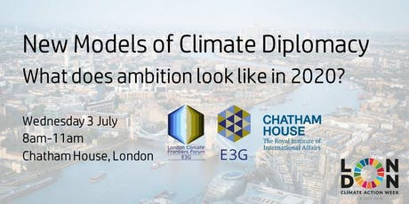 New Models of Climate Diplomacy tickets
