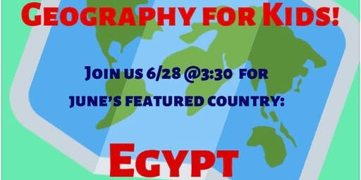 Geography for Kids: Egypt