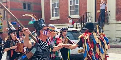 Join in Border Morris Dancing