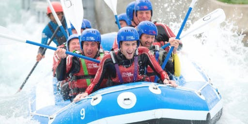 Maggie's Cambridge White Water Rafting Challenge