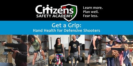 Get a Grip: Hand Health for Defensive Shooters