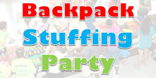 Back To School Celebration Stuffing Party 2019 - Volunteer Registration