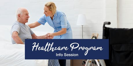 Healthcare Program Info Session tickets