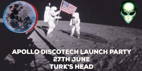 Apollo Discotech - 001 - Launch Party Edition tickets