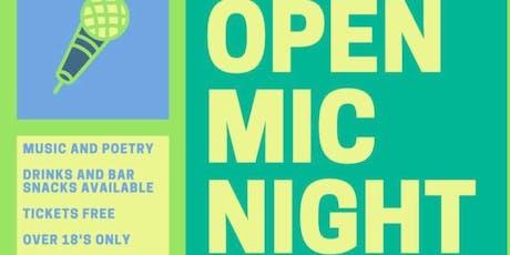 Open mic night @Lark tickets