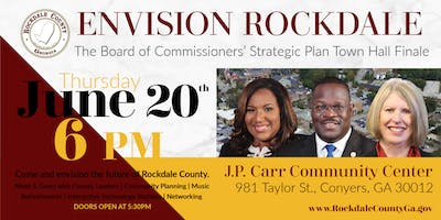 Envision Rockdale: The BOC Strategic Plan Town Hall Finale