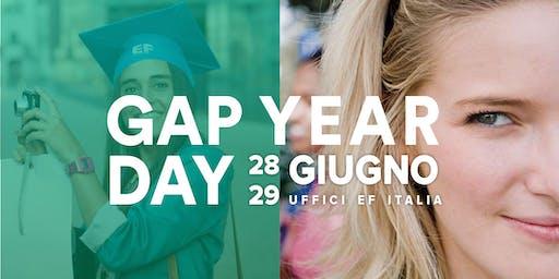 GAP YEAR DAY