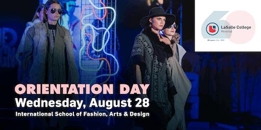 International School of Fashion, Arts and Design | Orientation Day 2019