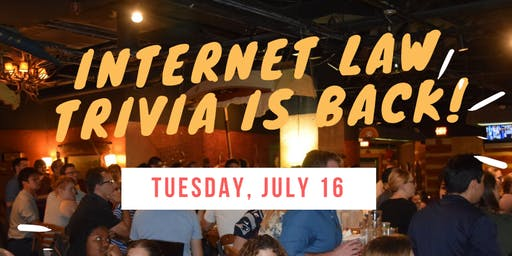 Internet Law & Policy Foundry Trivia Night 2019